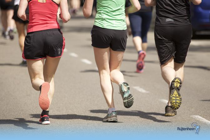 Sportmassage door Dirk Jan de Ruijter van Ruijtenheer Vitaal tijdens de Leiden Marathon